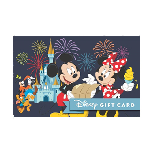 Disney Collectible Gift Card - Fireworks and Fantasy - Mickey and Pals