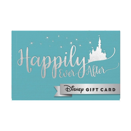 Disney Collectible Gift Card - A Fairytale Ending - Happily Ever After
