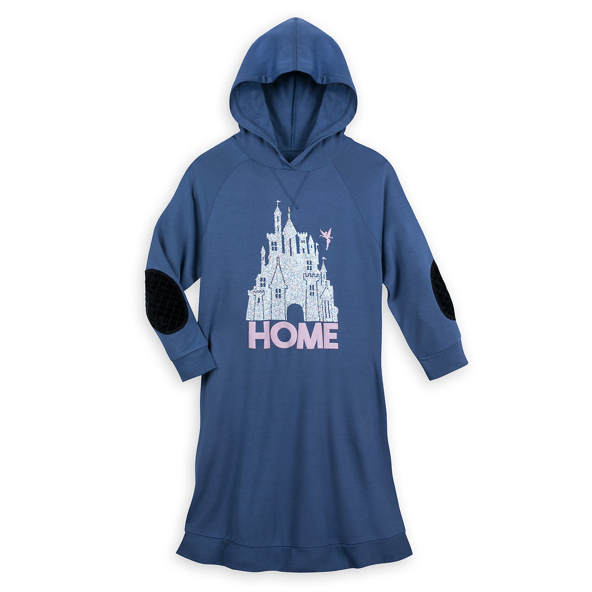 Disney Women's Tunic Shirt - Fantasyland Castle with Tinker Bell