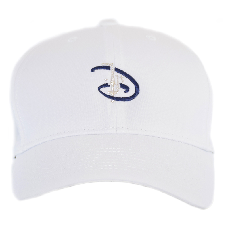 Disney Nike Hat - Baseball Cap - Disney D with Castle - White ae39b35891c