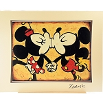 Disney Artist Print - Joe Kaminski - Mickey Mouse & Minnie Mouse - Forever - Signed