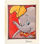 Disney Artist Print - Joe Kaminski - Dumbo Signed