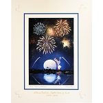 Disney Artist Print - Larry Dotson - Epcot - Illuminations - Festival of the Arts