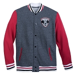 Disney Adult Jacket - Mickey Mouse Club Varsity Jacket