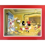 Disney Artist Print - Michelle St. Laurent - Home for the Holidays