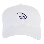 Disney Nike Hat - Baseball Cap - Disney D with Castle - White