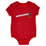 Disney Baby Bodysuit - Mickey Mouse - Red