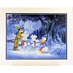 Disney Artist Print - Michael Humphries - Ice Sculptures