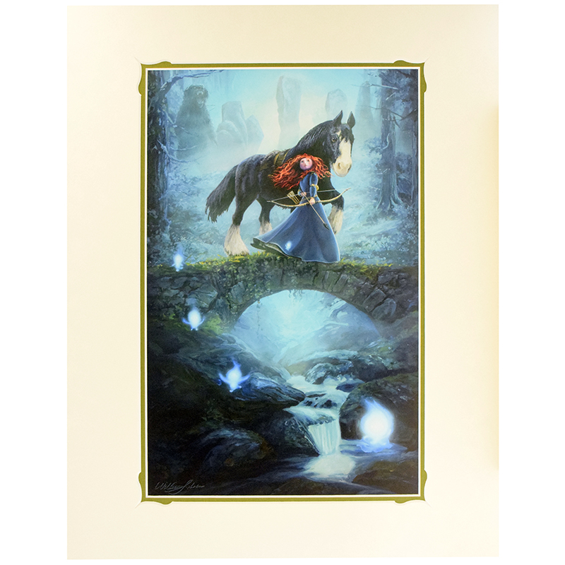 Disney Artist Print - William Silvers - The Brave One