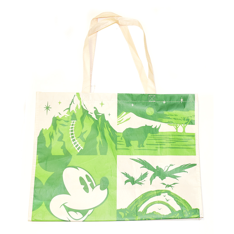 WDW Disney Parks Animal Kingdom Reusable Shopping Gift Tote Bags Set of 3 S,M,/&L