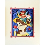 Disney Artist Print - Fenway Fan - My Pretty Pretty Hat - Belle