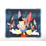 Disney Artist Print - Don ''Ducky'' Williams - Sea-Horsing Around