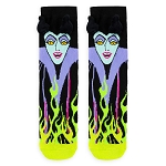 Disney Adult Socks - Maleficent Fiery Flames