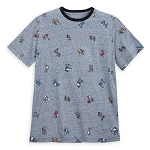 Disney Men's Shirt - Mickey Mouse Through the Years