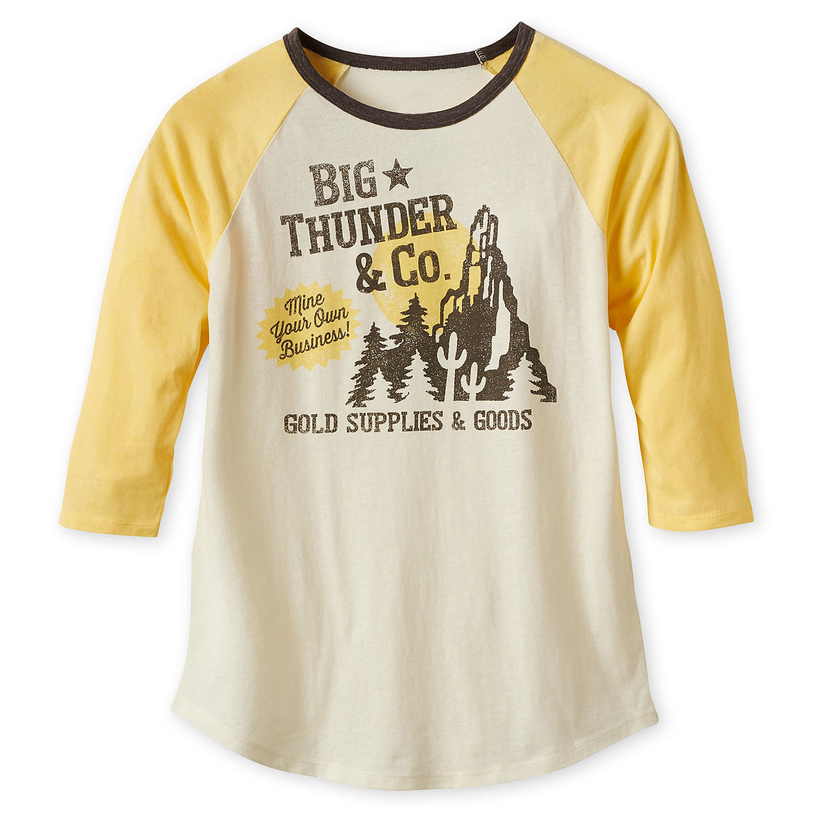Disney Women's Shirt - Big Thunder Mountain Raglan