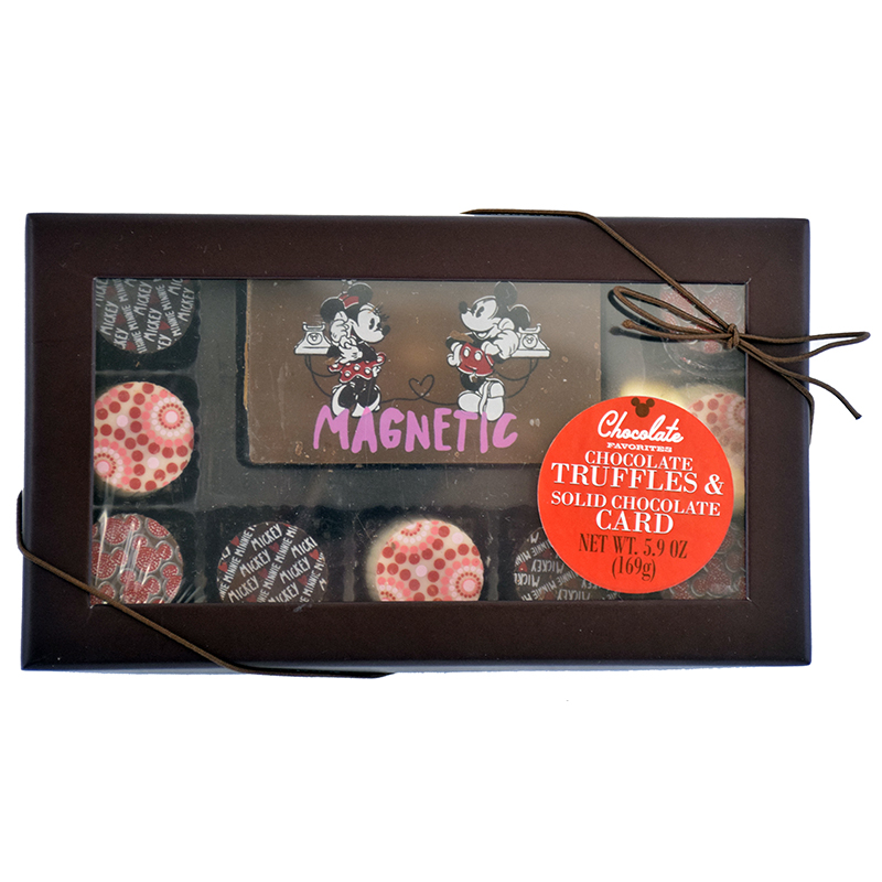 Disney Chocolate Favorites - Assorted Truffles and Chocolate Card