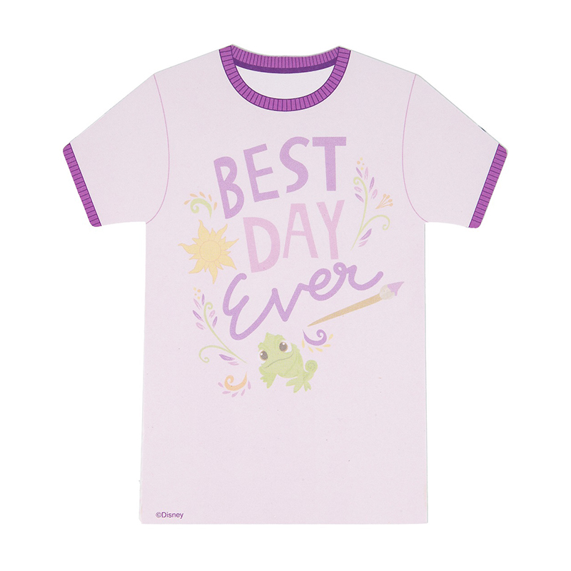 Disney Notepad - Magnetic Rapunzel Best Day Ever Tee