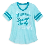 Disney Women's Shirt - Tomorrowland Dreamer Society