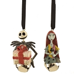 Disney Ornament - Jack and Sally Bells