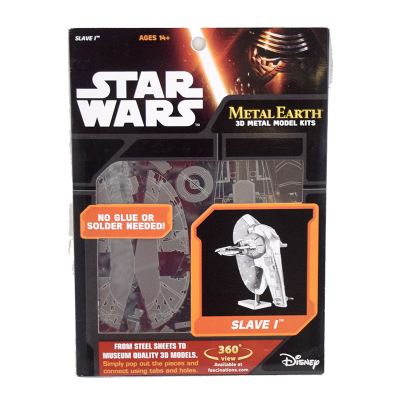 Metal Earth Star Wars Slave I Boba Fett Model Kit