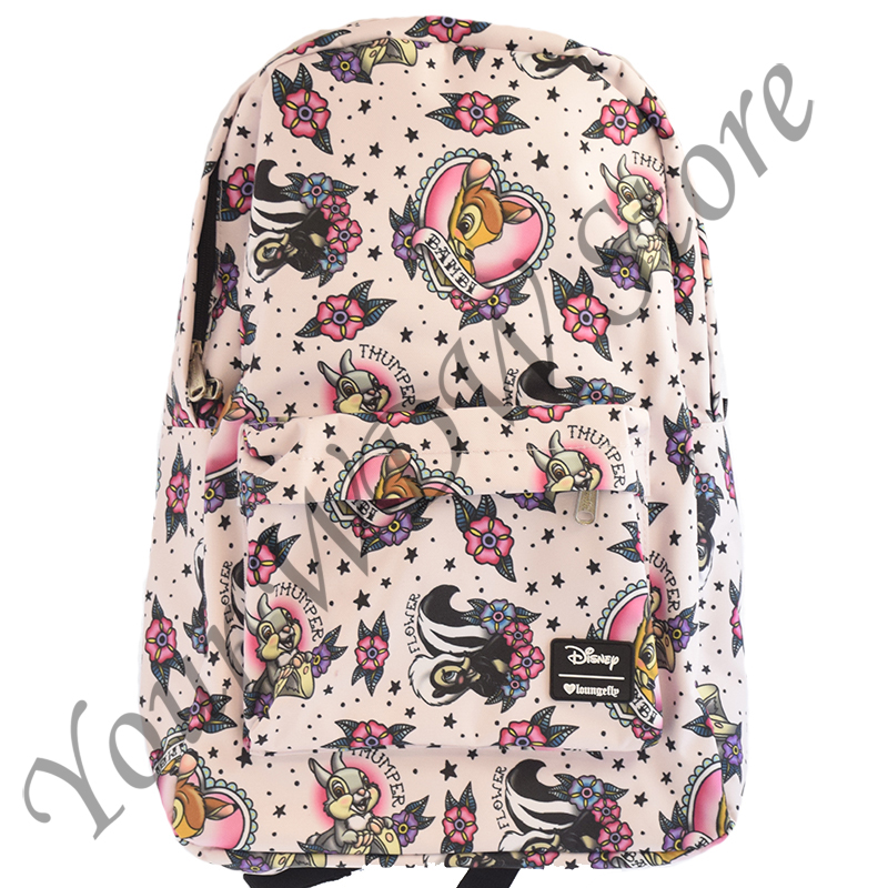 Disney Backpack - Bambi and Friends Tattoo