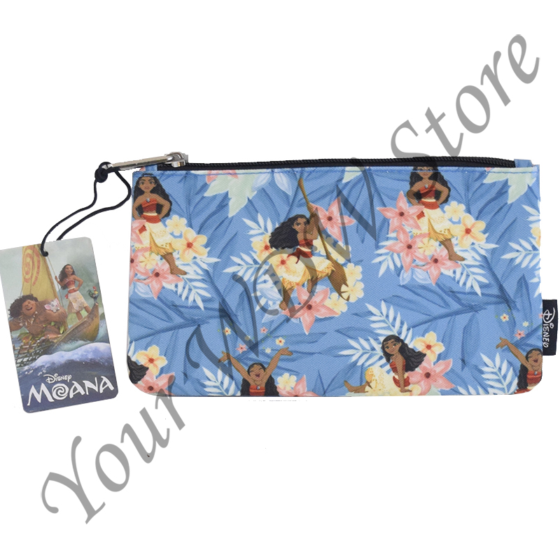 Disney Loungefly Nylon Pouch - Princess Moana Floral - Coin Bag