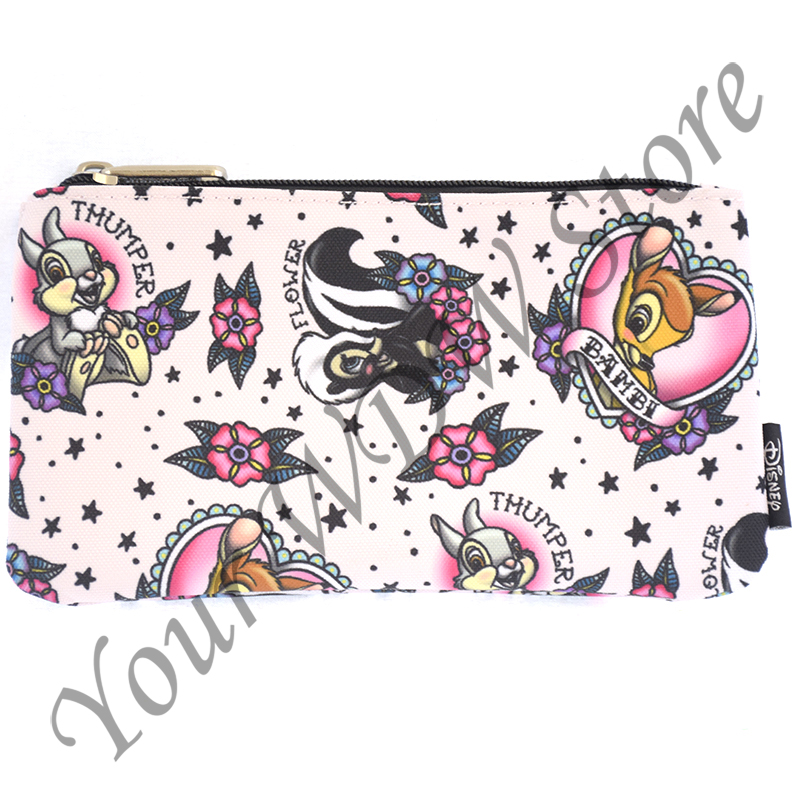 Disney Zip Pouch - Bambi Tattoo