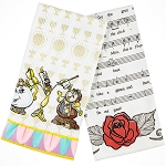 Disney Kitchen Dish Towel Set - Beauty and the Beast Trio