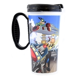 Disney Thermal Travel Mug Cup -  Magic Kingdom - Tomorrowland - Space Ranger Spin