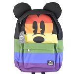 Disney Loungefly Backpack - Mickey Mouse Rainbow Face