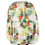 Disney Loungefly Backpack Bag - Mickey and Minnie Hawaiian Tropical