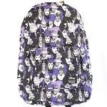 Disney Backpack - Allover Villains in Purple