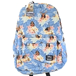 Disney Loungefly Backpack - Moana Floral