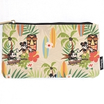 Disney Zip Pouch - Mickey and Minnie Tropical Hawaiian