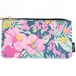 Disney Zip Pouch -  Princess Ariel and Flounder Hibiscus