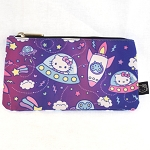 Universal Zip Pouch - Hello Kitty Spaceships