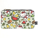 Universal Zip Pouch - Hello Kitty Fruits