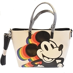 Disney Loungefly Tote - Mickey Rainbow