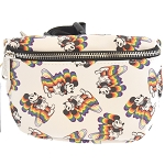 Disney Loungefly Waist Pouch - Mickey Rainbow