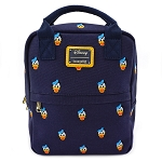 Disney Loungefly Mini Backpack - Donald Duck Faces Canvas