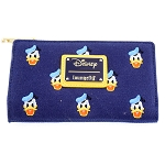Disney Loungefly Wallet - Donald Duck Faces Canvas