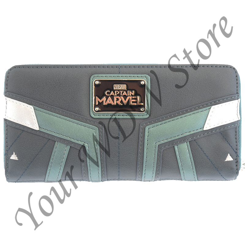 Disney Loungefly Zip Around Wallet - Captain Marvel