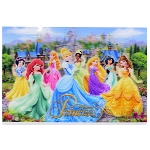 Disney Postcard - Lenticular Princesses