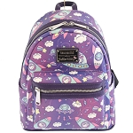 Universal Loungefly Mini Backpack - Hello Kitty Outer Space Spaceships