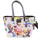 Disney Loungefly Tote - Captain Marvel Floral
