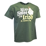 Disney Adult Shirt - Kiss Smee I'm Irish - St. Patrick's Day 2019