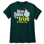 Disney Adult Shirt - St. Patrick's Day - Kiss Smee I'm Irish