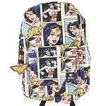 DC Backpack by Loungefly - Wonder Woman Comic