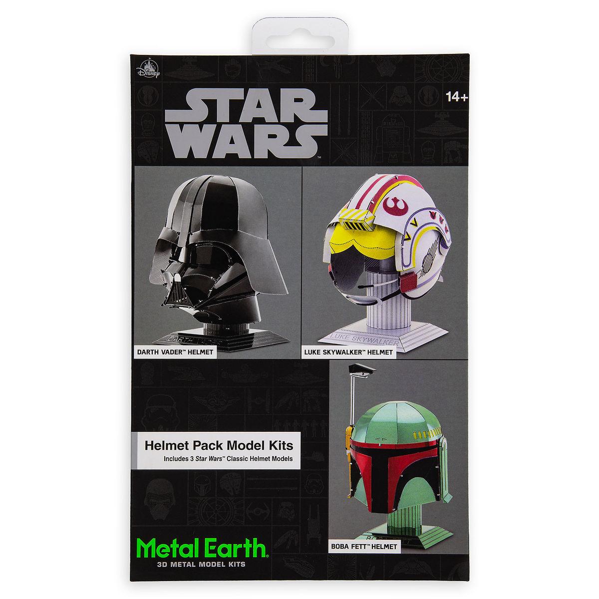 dcc8a6799 Disney 3D Model Kit - Metal Earth - Star Wars Helmet Pack - Darth Vader