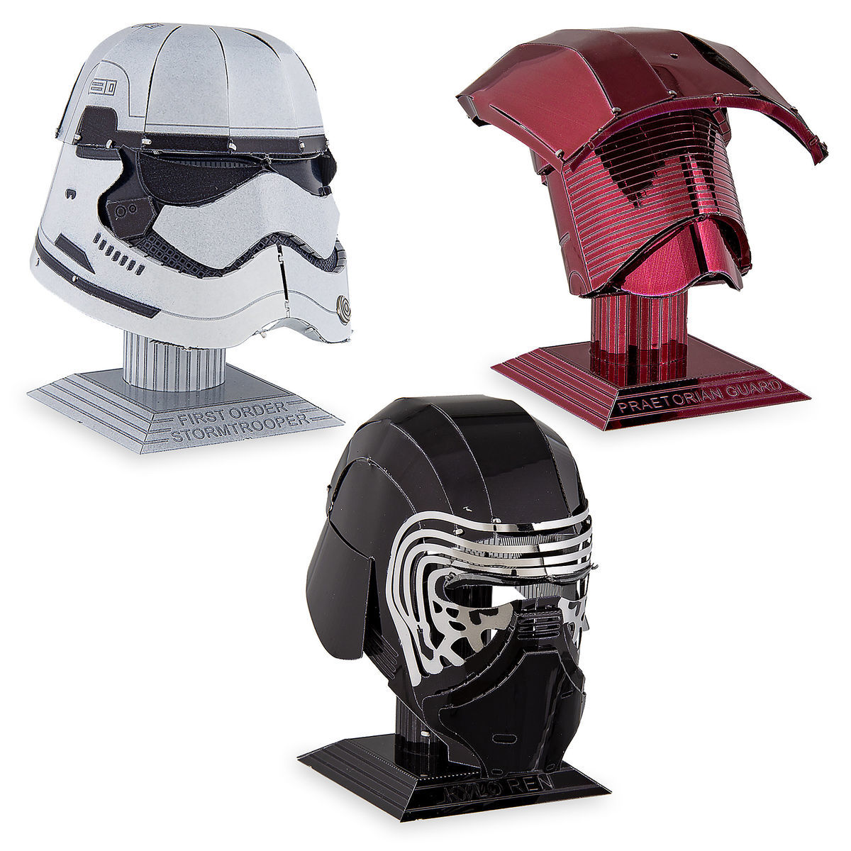 Disney 3D Model Kit - Metal Earth - Star Wars Helmet Pack - Kylo Ren